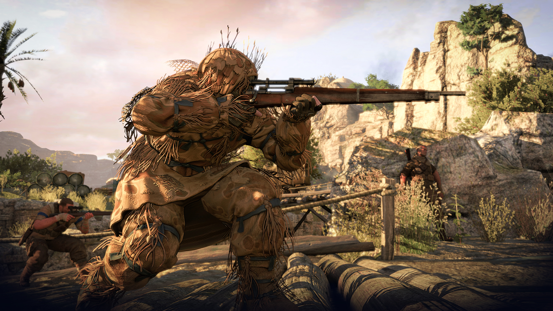 Sniper Elite 3: completes all the optional objectives