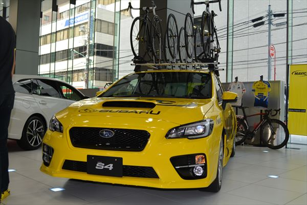 スバルは自転車にも強い!日本最高峰レース「ジャパンカップ」をサポートする理由