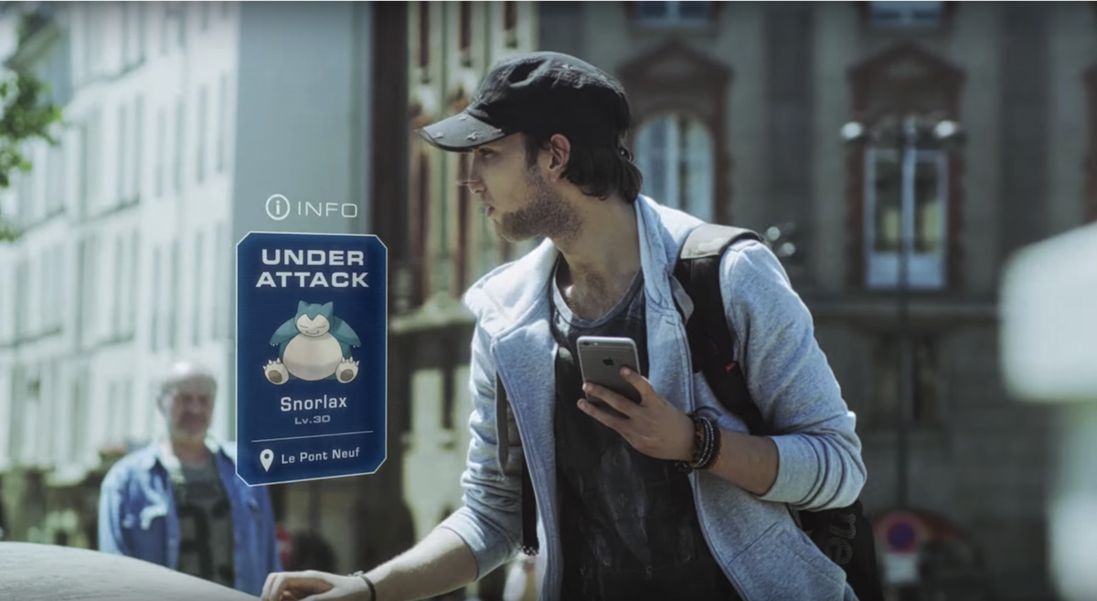 'Pokémon Go' uses your phone for real-life Mewtwo hunting