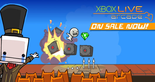 Castle Crashers, BattleBlock Theater $5 each on XBLA this week