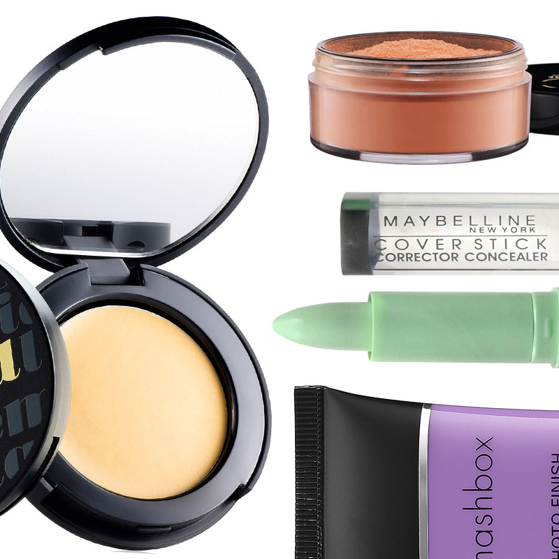 The best color correcting makeup for your skin tone
