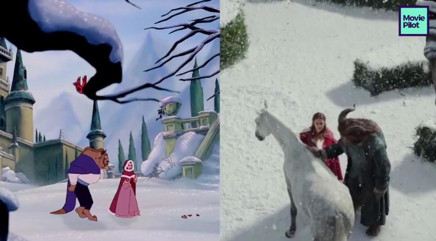 El tráiler de 'La Bella y la Bestia' es un déjà vu continuo