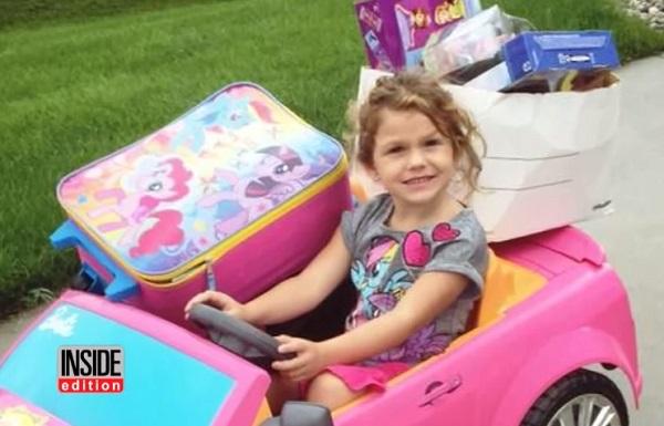 火事の被害に遭ったご近所さんのために・・・4歳の少女の思いやりのある行動に感動の声