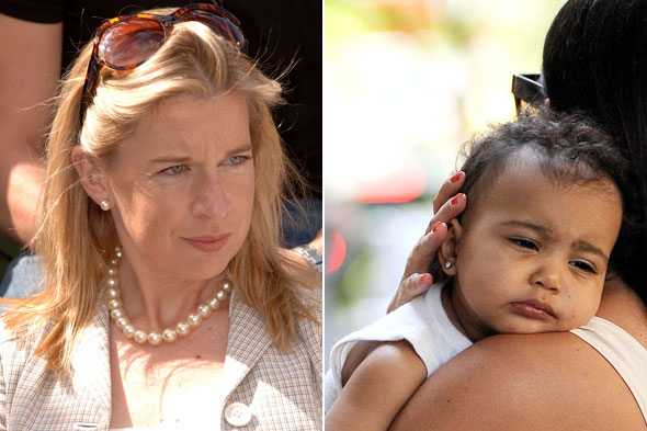 'Baby bully' Katie Hopkins calls North West ugly