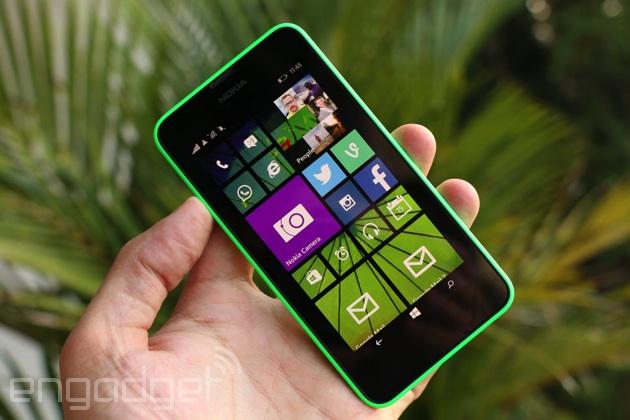 Nokia Lumia 630 (635 is visually identical)
