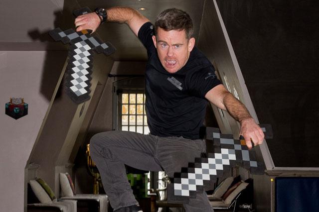 Stuntman Paul Lowe