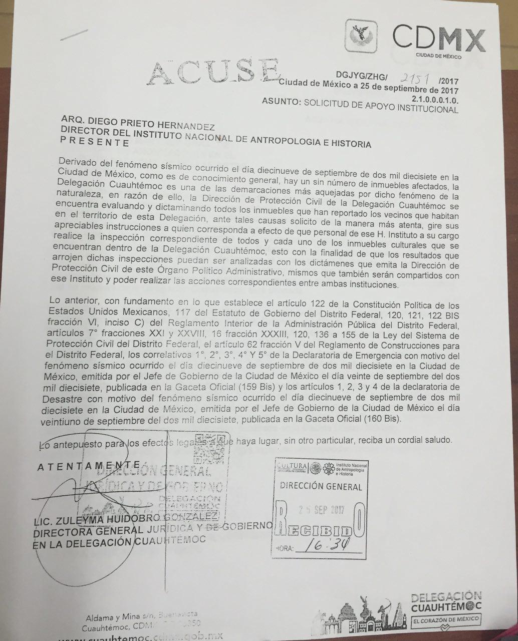 Detectan daños en Ángel de la Independencia y solicitan revisión