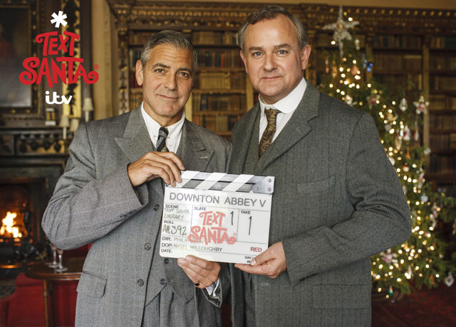 george clooney downton abbey