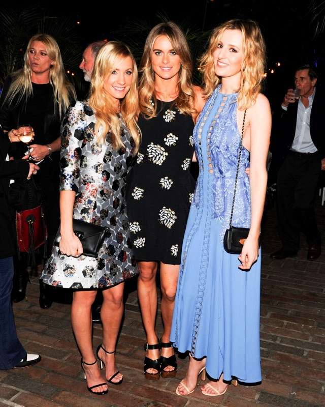 Cressida Bonas heads to Hollywood - and looks better than EVER