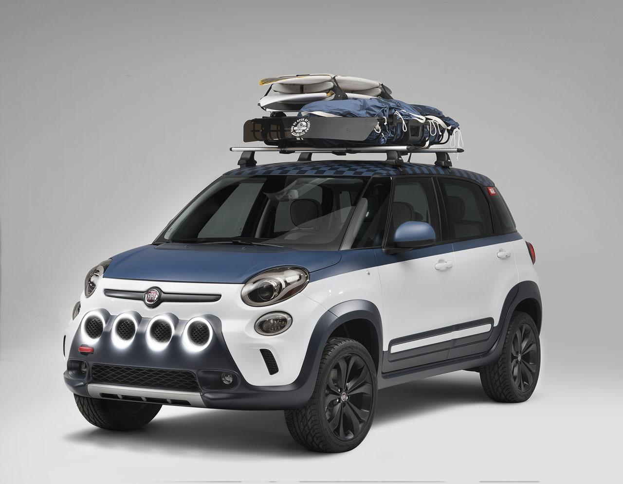 Fiat 500 L, Vans Concept, Fiat 500 L Vans Concept, Concept Car, Freizeit, spaß,  Sneaker, Vans Sneaker, Fiat, Fiat 500, Fiat 500L, Surfer, Vans US Open of Surfing