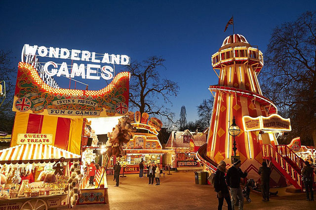 winter wonderland 2014 christmas hyde park london