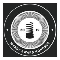 Webby Award Honoree