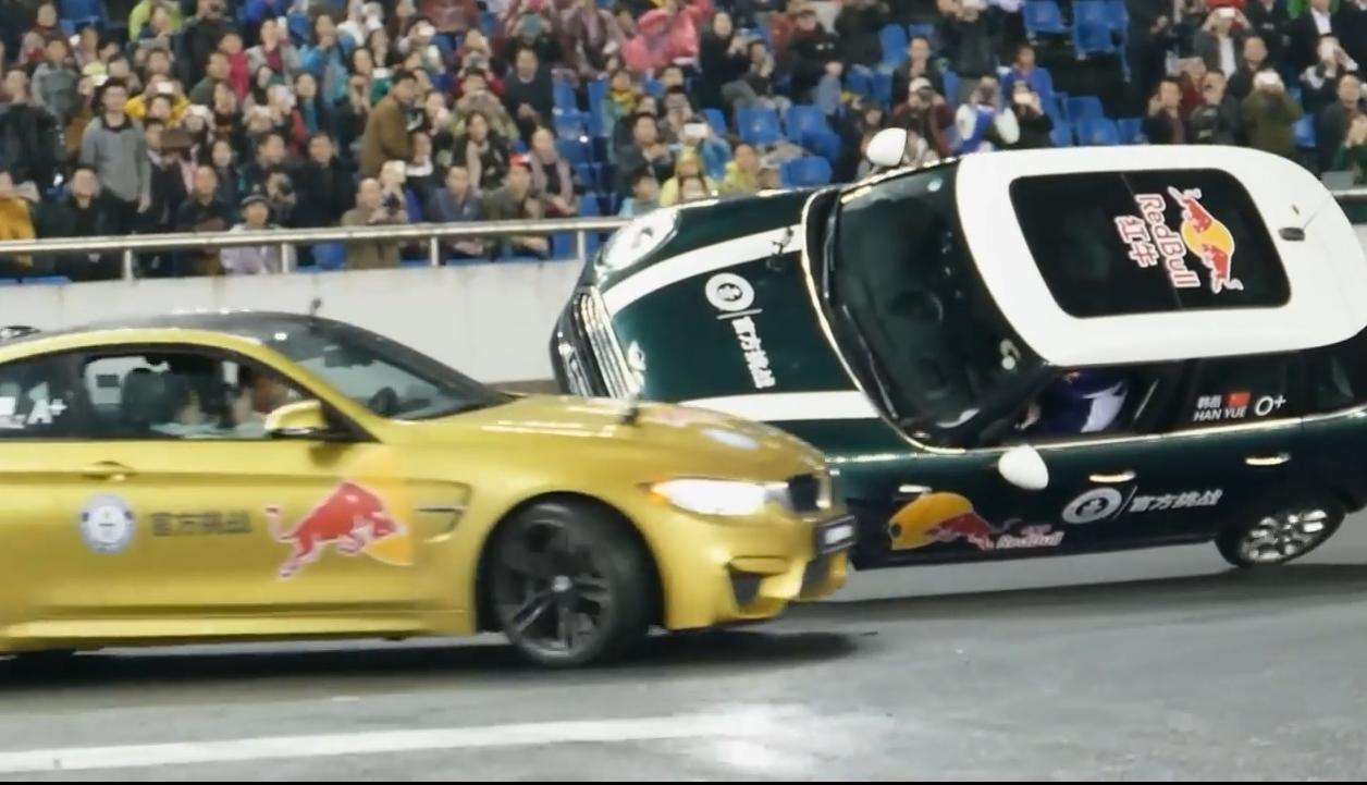 Drift weltrekord für BMW