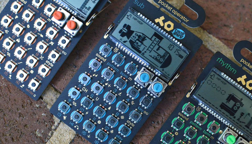 Making beats with Teenage Engineering's pocket-sized synthesizers