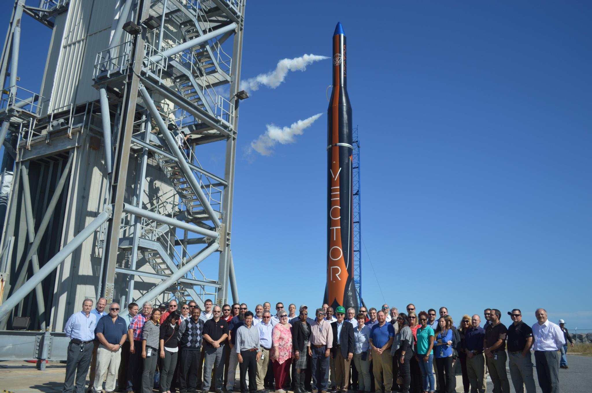 Vector plans three 'microsatellite' launches in Virginia