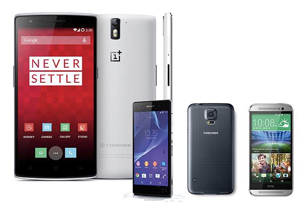 OnePlus One contra la competencia