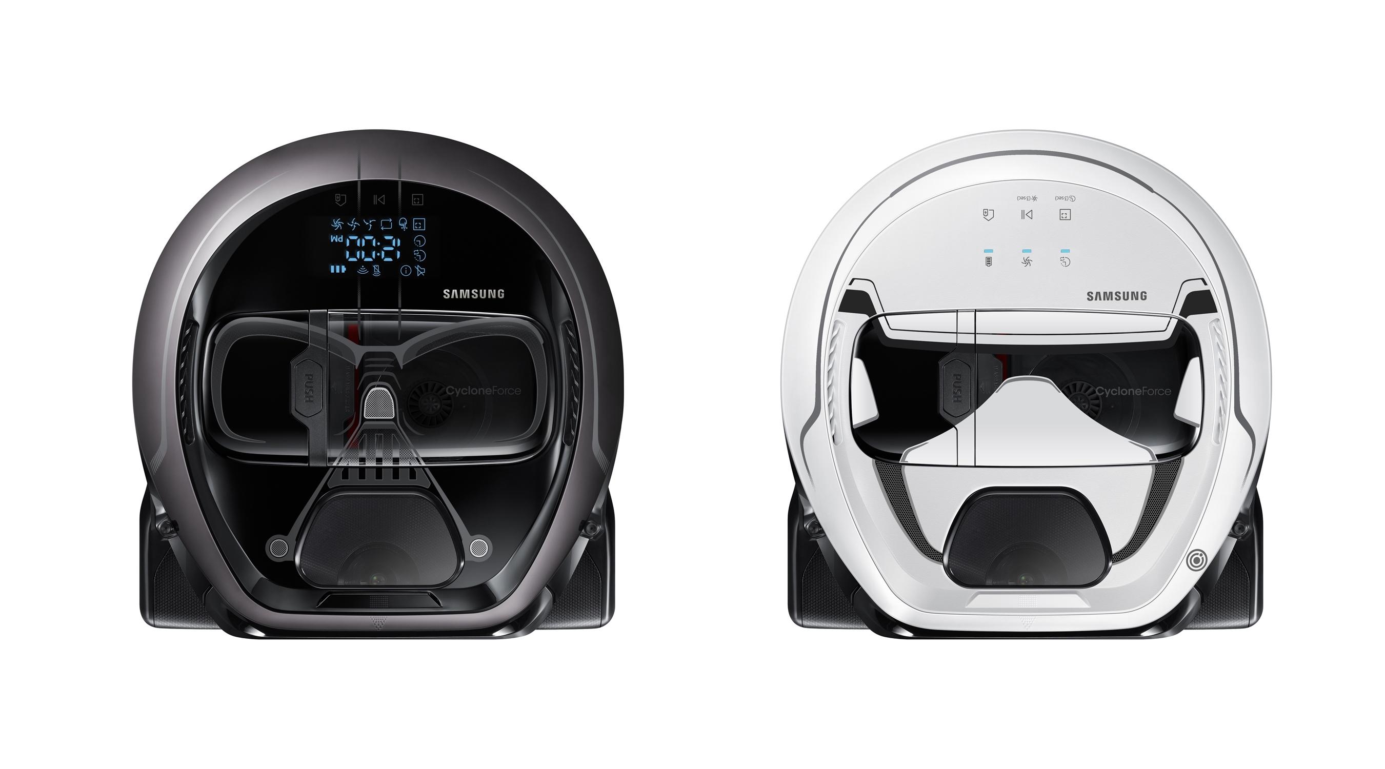 Samsung ha lanzado un robot aspirador inspirado ¡en Darth Vader!