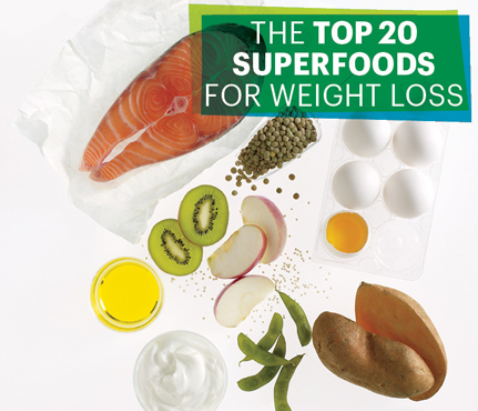 20 superfoods for weight loss