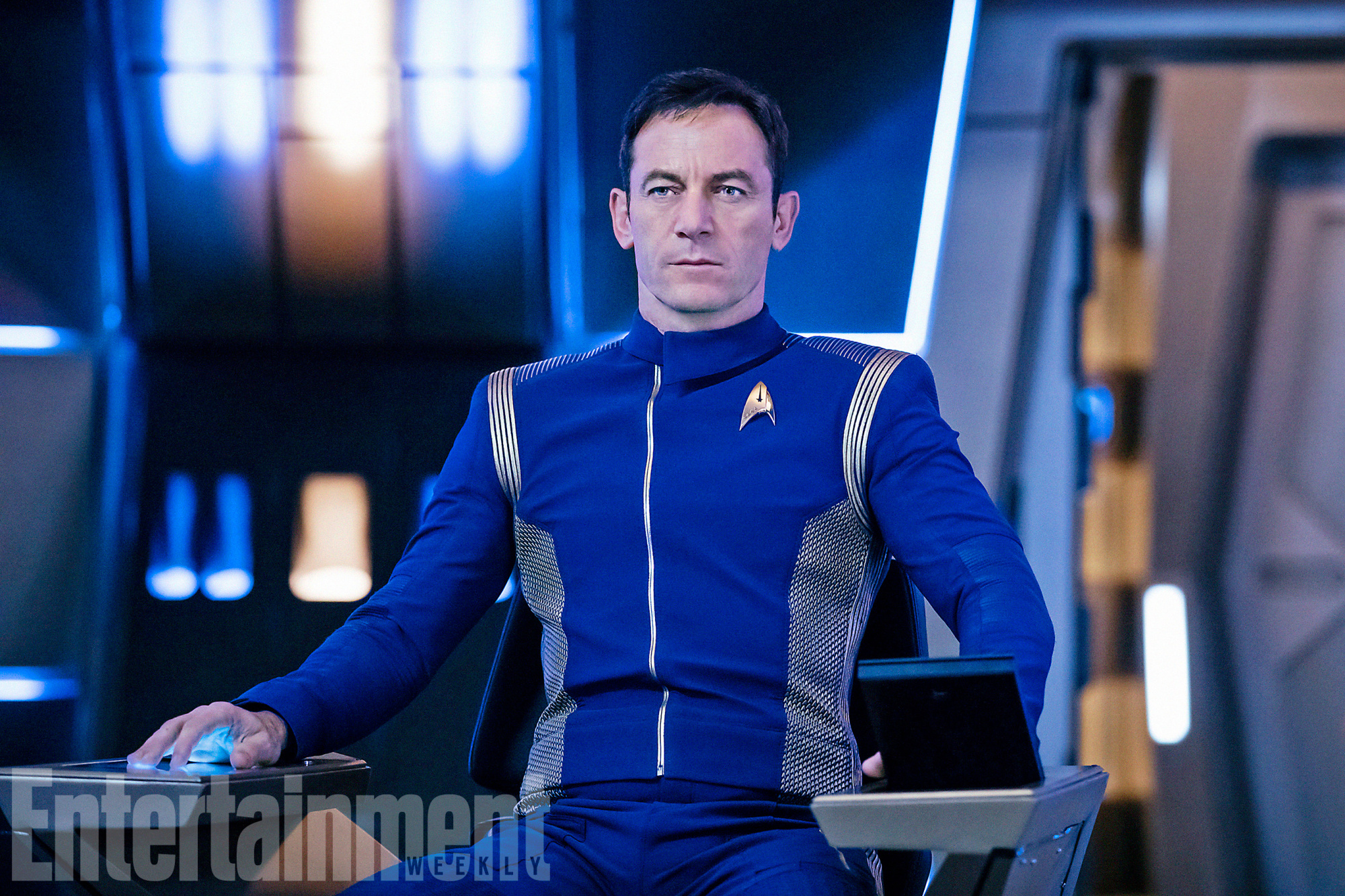 STAR TREK: DISCOVERY Pictured: Jason Isaacs as Captain Gabriel Lorca.
