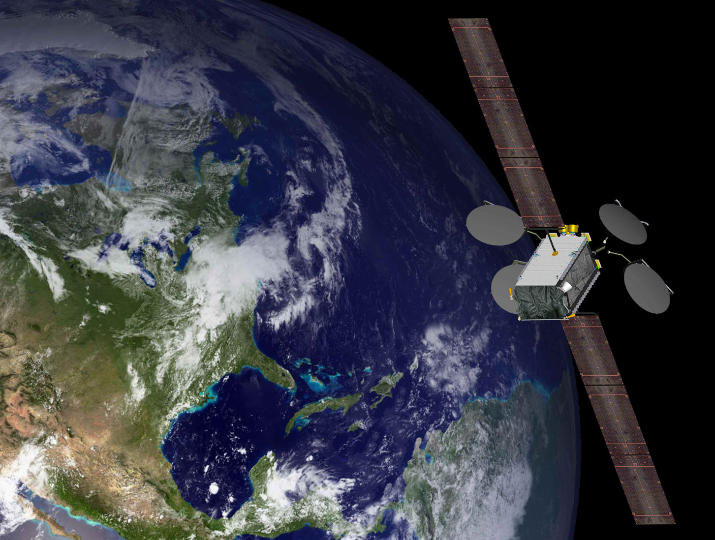 Worlds First All Electric Propulsion Satellite Starts Operations