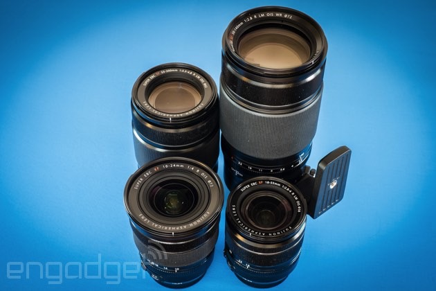 Fuji's premium telephoto zoom packs some serious punch