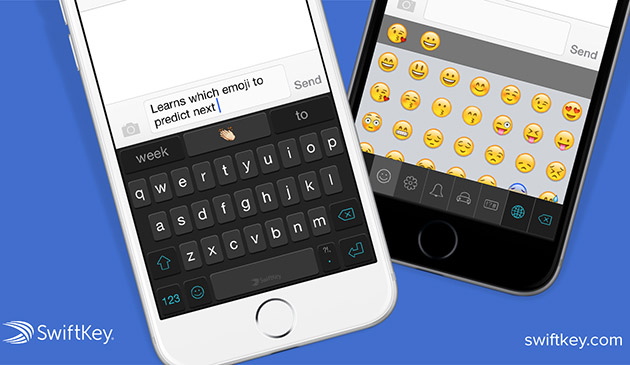 Swiftkey starts predicting emoji for iPhones and iPads
