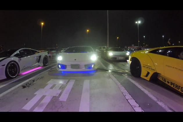 【ビデオ】GoProが捉えた、夜の東京を走る派手やかなクルマたち