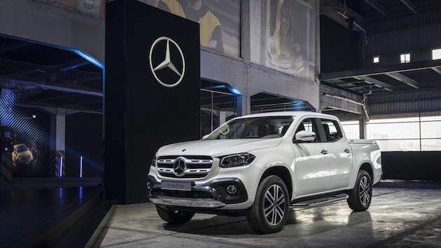 Weltpremiere neue Mercedes-Benz X-Klasse, Kapstadt, 2017 World premiere new Mercedes-Benz X-Class, Cape Town, 2017