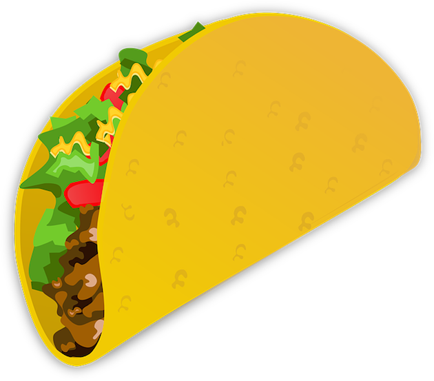 Yum, your next favorite emoji could be a delicious taco