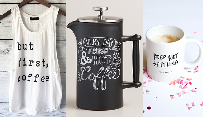 Gift ideas for your coffee-obsessed friend