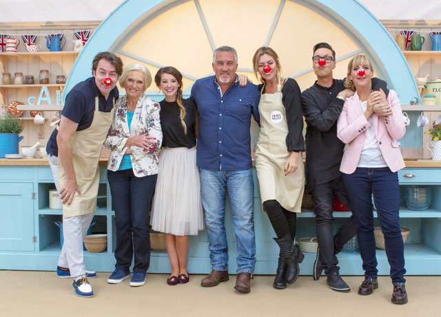 bake off comic relief