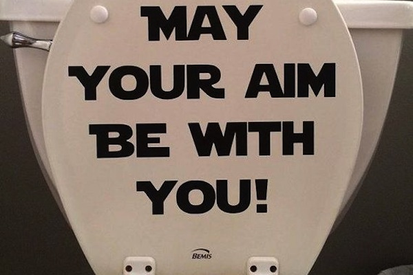 male struggles that are definitely real, common man problems, may your aim be with you toilet lid
