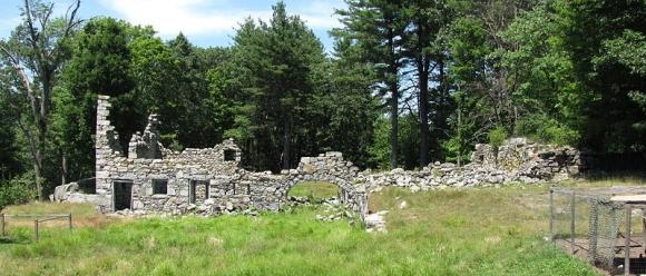 Ruins - Photograph by John Phelan