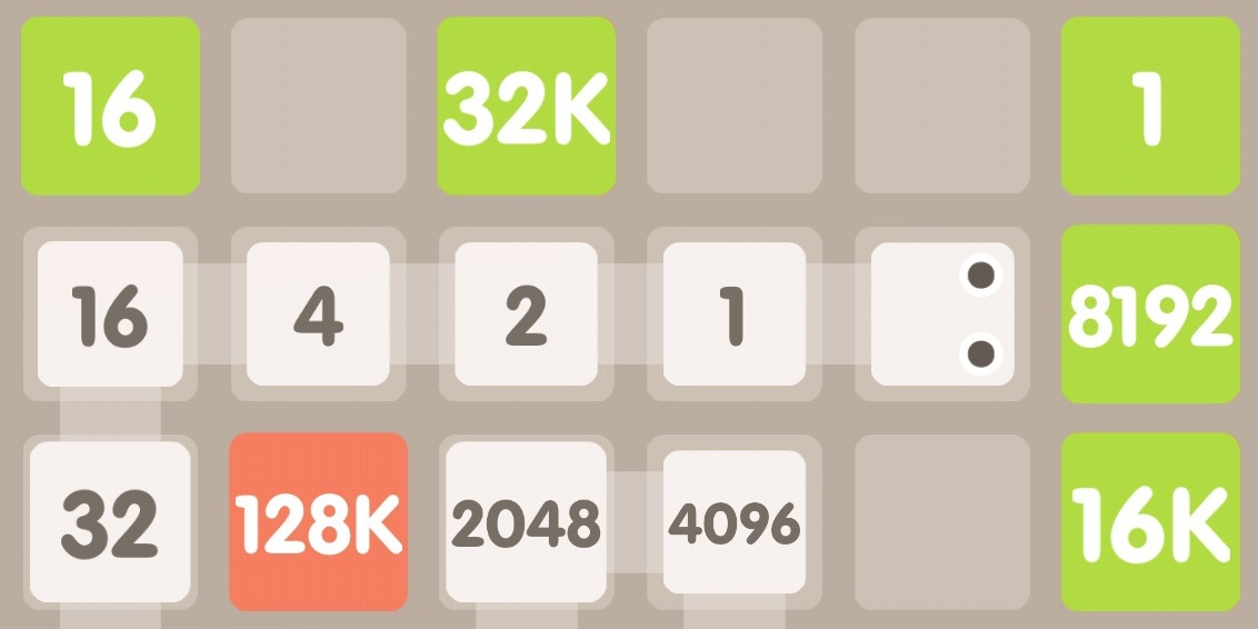 How to play 2048 Snake