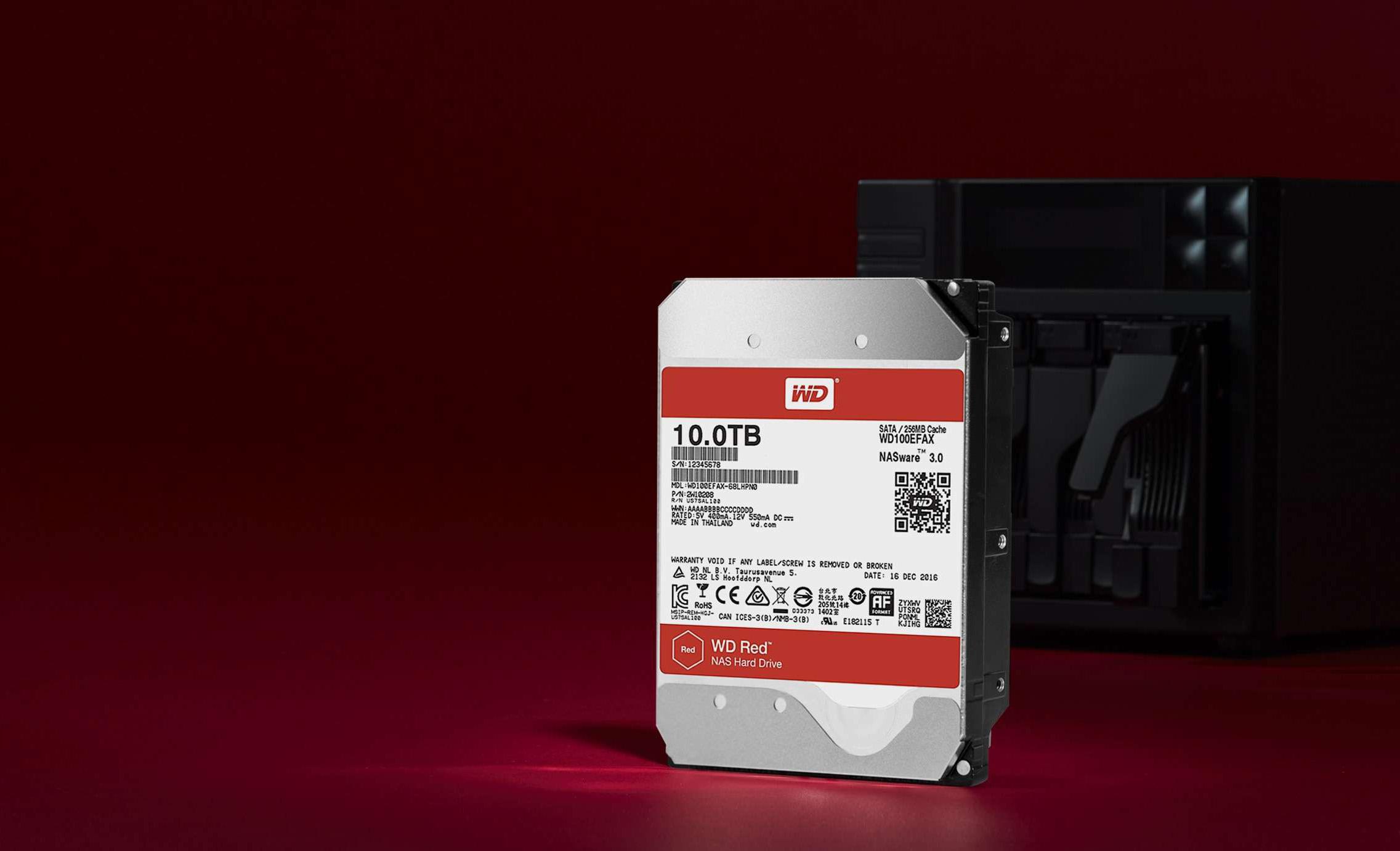 Tu NAS ahora podrá tener discos de 10 TB y helio