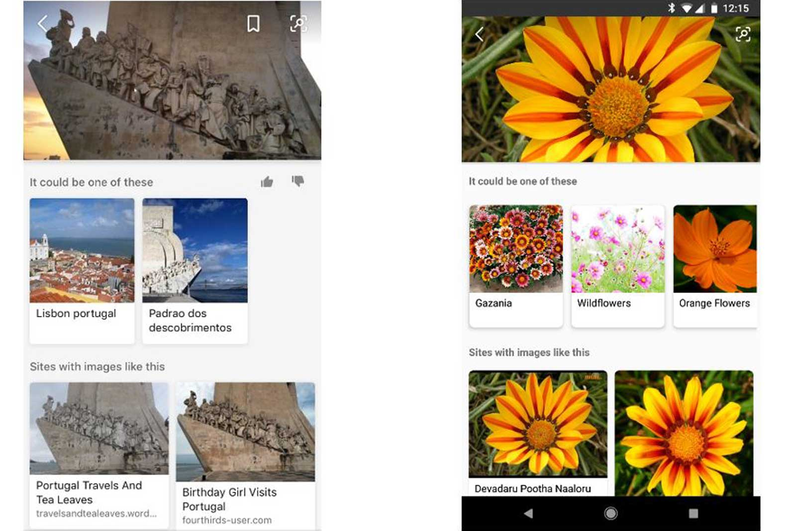 Bing can use your phone camera to search the web