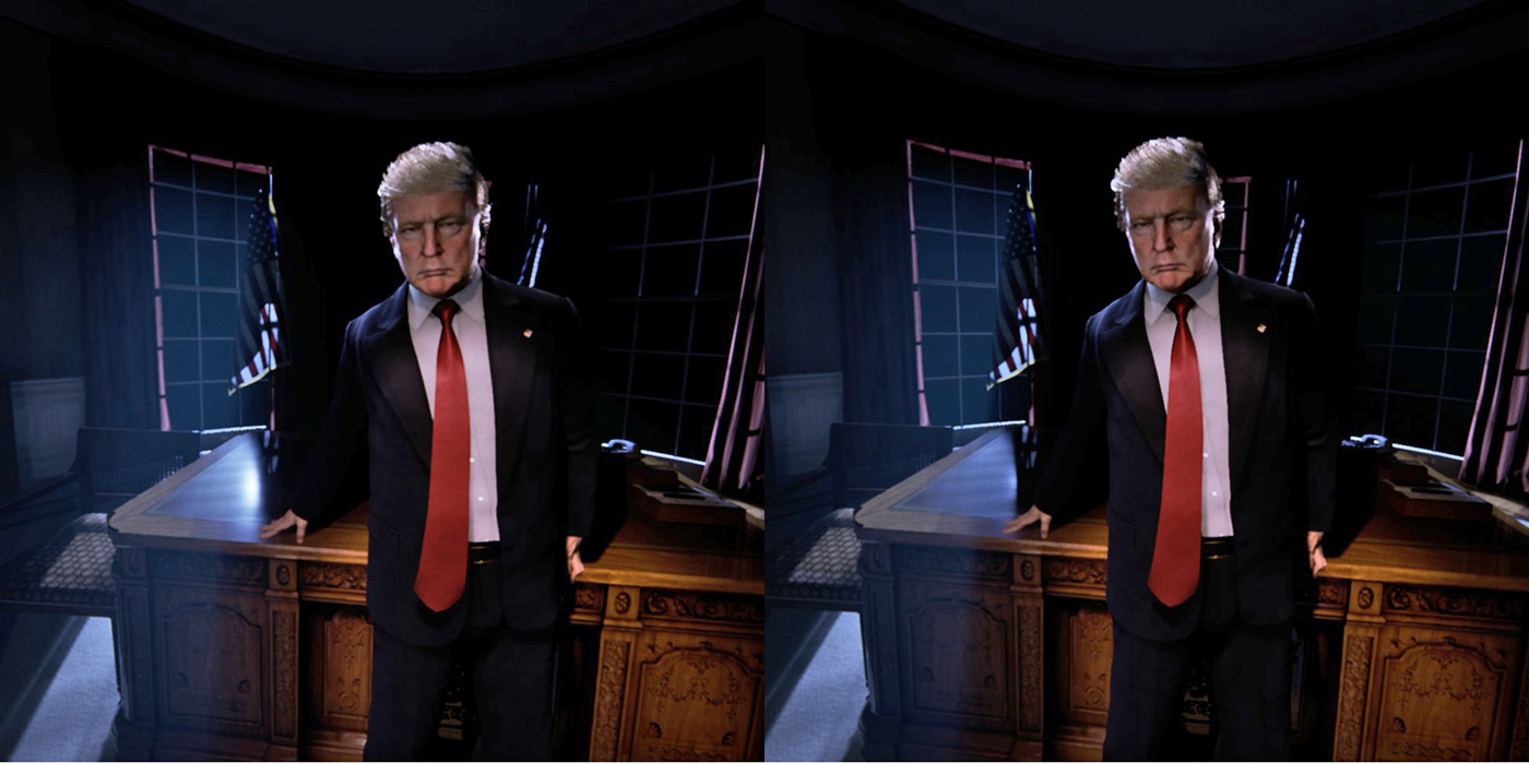 trump at 2am the new oval office in virtual reality technology news
