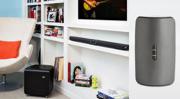 Engadget giveaway: win an Omni soundbar system and wireless speaker courtesy of Polk Audio!