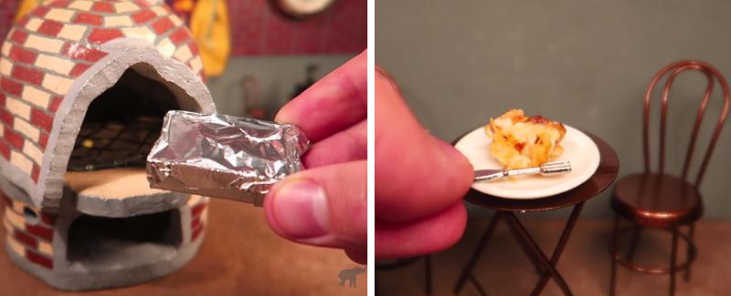 食品サンプルじゃない! 世界最小のラザニアを作ってみた【動画】