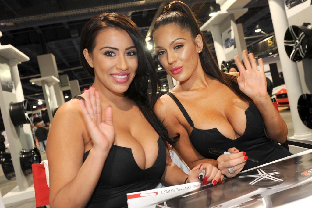 sex Hostessen: Die Motorshow girls des Jahres 2014