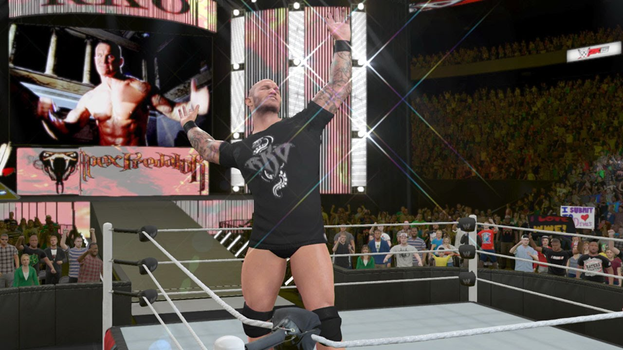 Make an awesome wrestler in WWE 2K15!