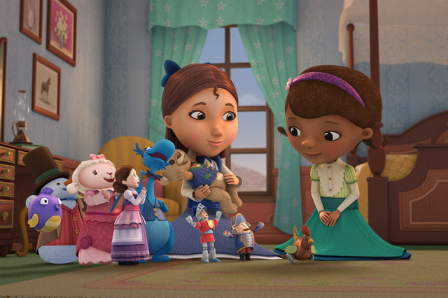 Downton Abbey cast to star in Doc McStuffins