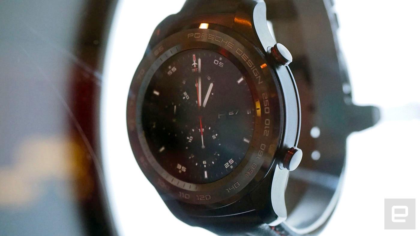 El Huawei Watch 2 Porsche Design tiene poco de extraordinario