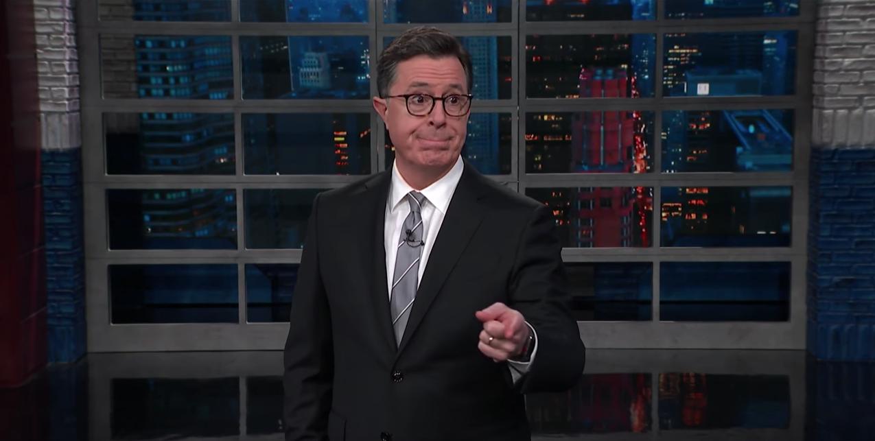 Stephen Colbert über den Facebook-Skandal