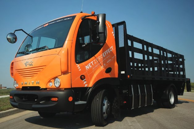 Smith Electric Vehicles' delivery truck