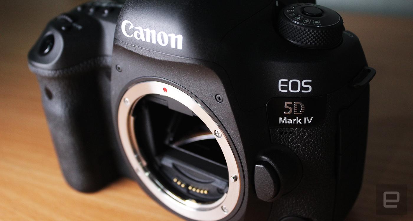 Canon EOS 5D Mark IV 正式發表:30MP、4K 錄影都給你了(更新動手玩圖集)