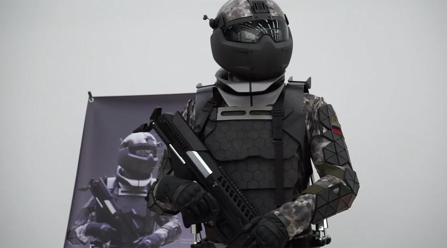 Rusia está desarrollando este increíble exoesqueleto para su ejército