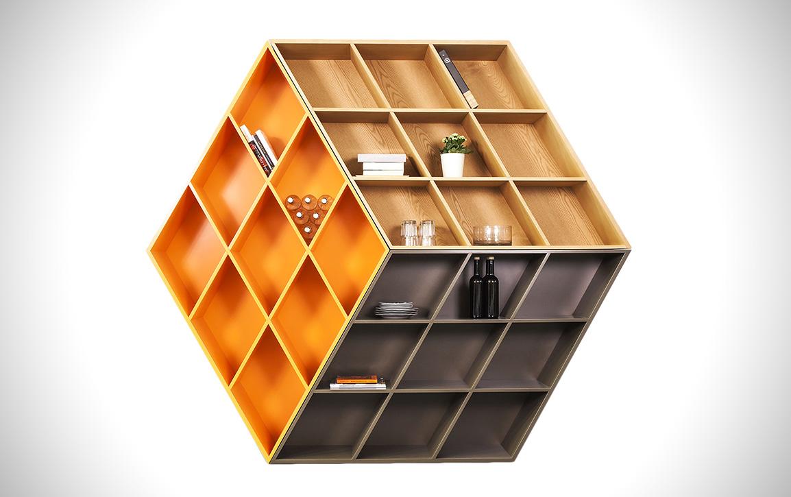 Rubika B601: Zauberwürfel als Buchregal ist verwirrend