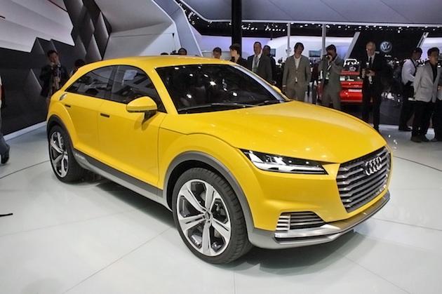 【レポート】車名は「TTQ」に? アウディが「TT オフロード コンセプト」の市販化を決定!