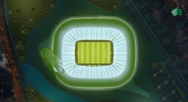 トルコに建設中の超ハイテクスタジアムのデザインが話題 イメージは「ワニ」